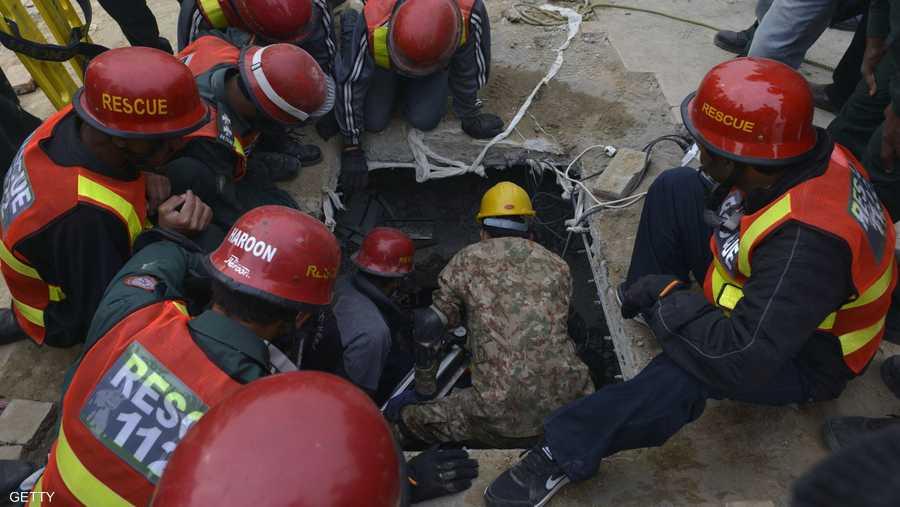أصيب في الحادث حتى الآن 80 شخصا على الأقل.