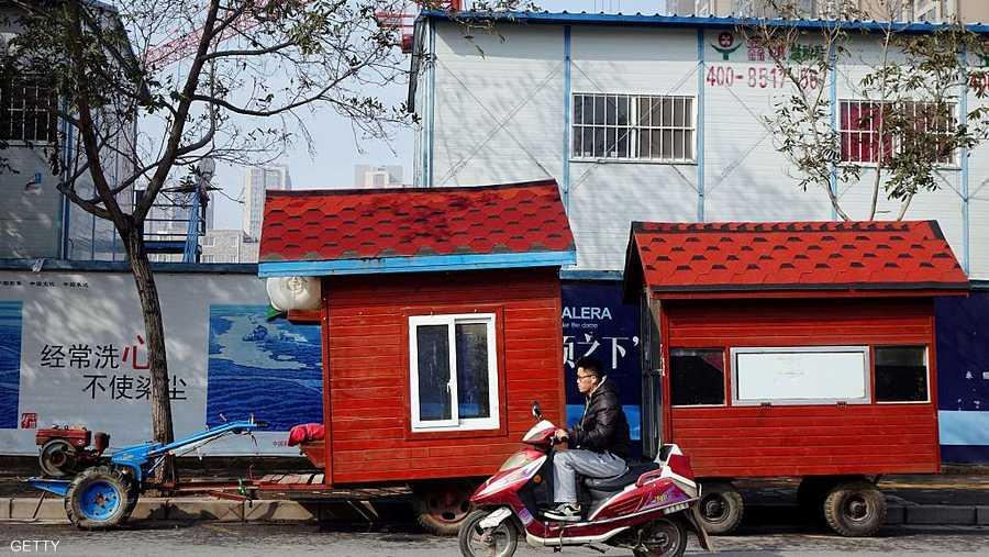 منزل متحرك فريد من نوعه في الشارع