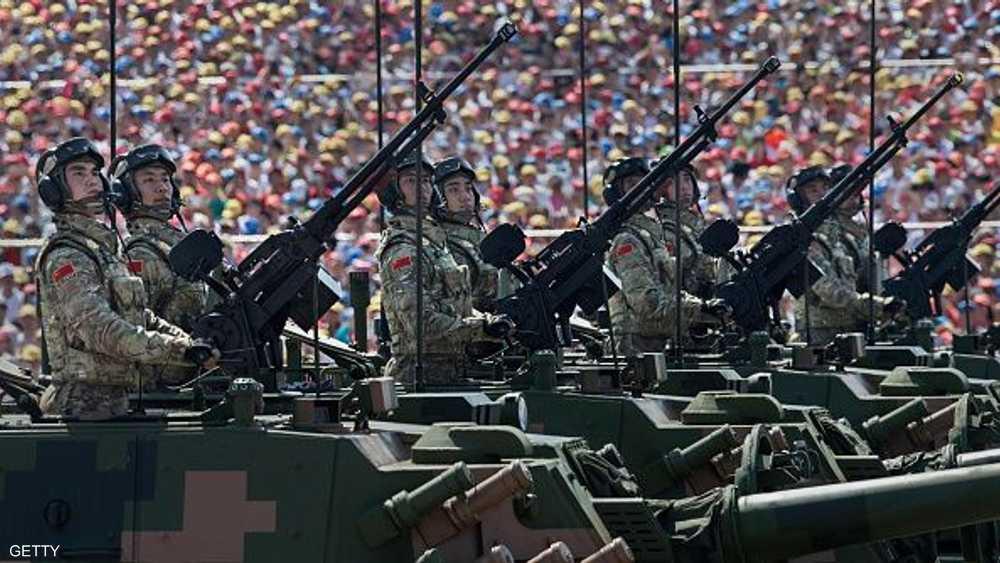 من عرض عسكري للجيش الصيني - أرشيفية