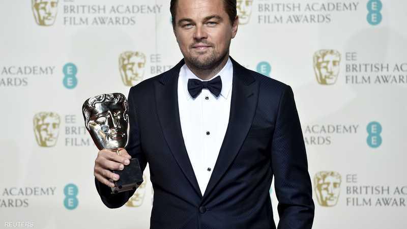 ليوناردو دي كابريو حصل على جائزة أفضل ممثل عن دوره المميز في فيلم ذا ريفينانت