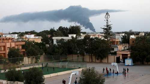 أعمدة الدخان وأصداء الانفجارات لم تمنع هؤلاء الفتية من ممارسة رياضتهم المفضلة