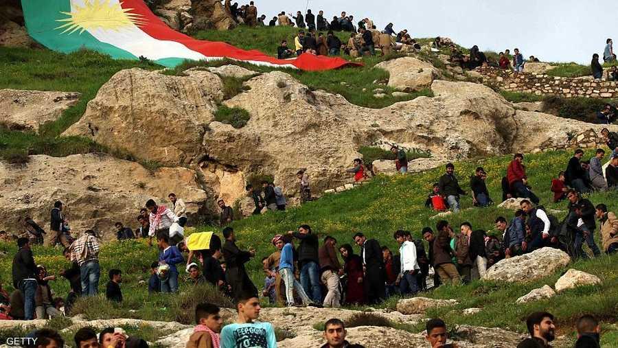 الأكراد يحتفون بالربيع
