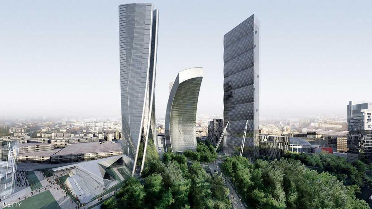 أبراج سيتي لايف في ميلان