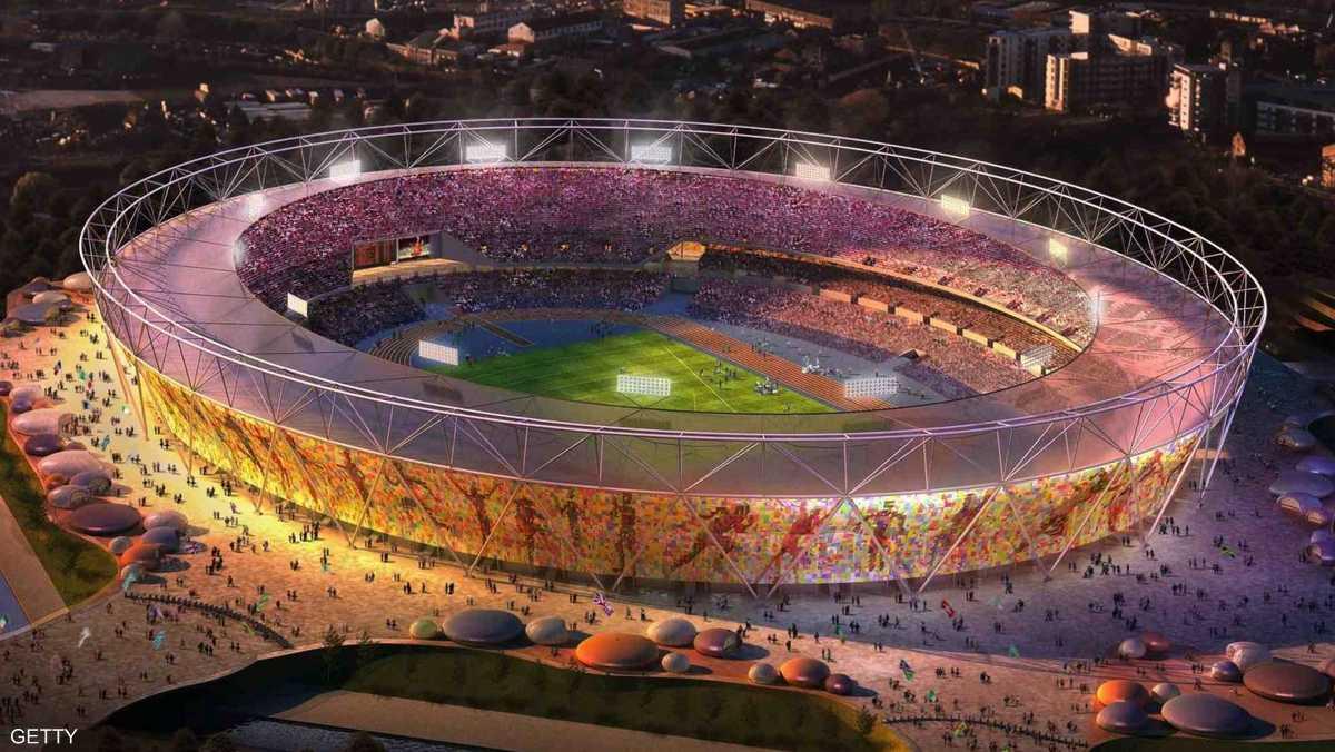 الاستاد الأولمبي في لندن