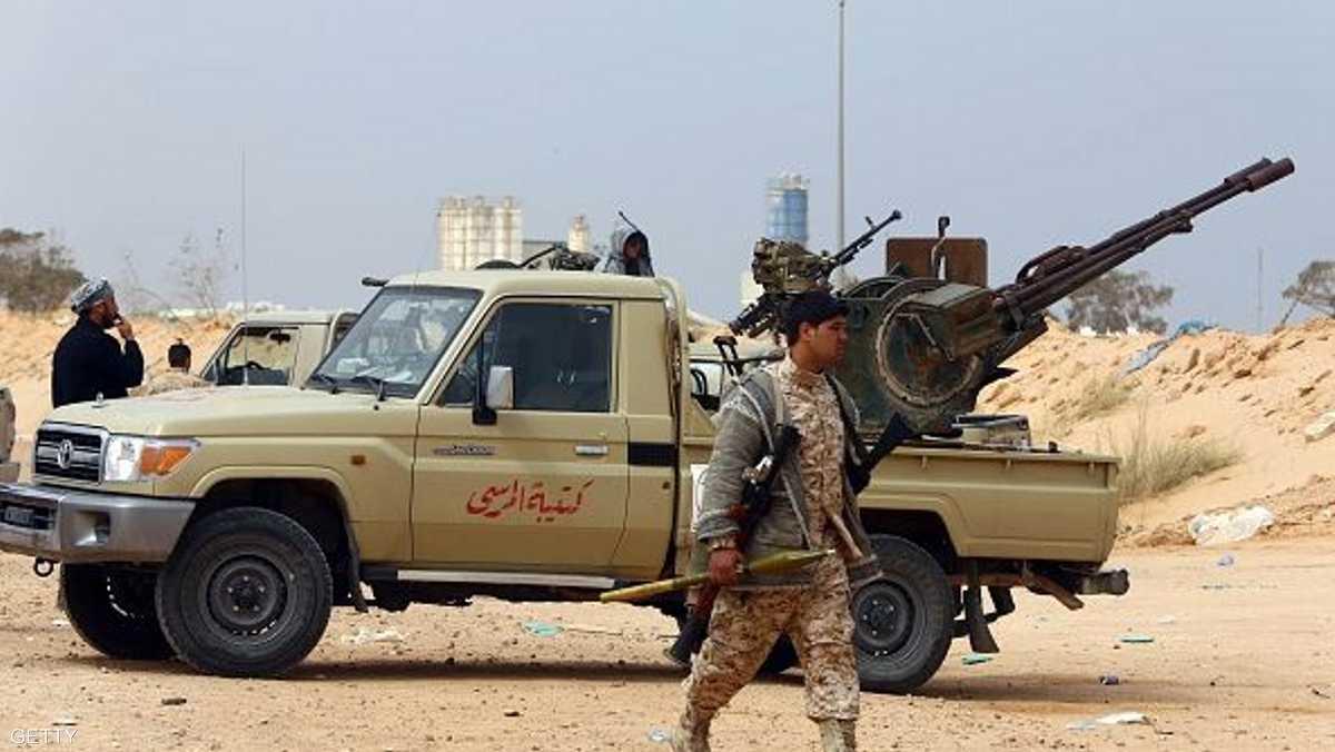 تفجير لداعش في ليبيا يوقع 5 قتلى مسلحين 1-838624