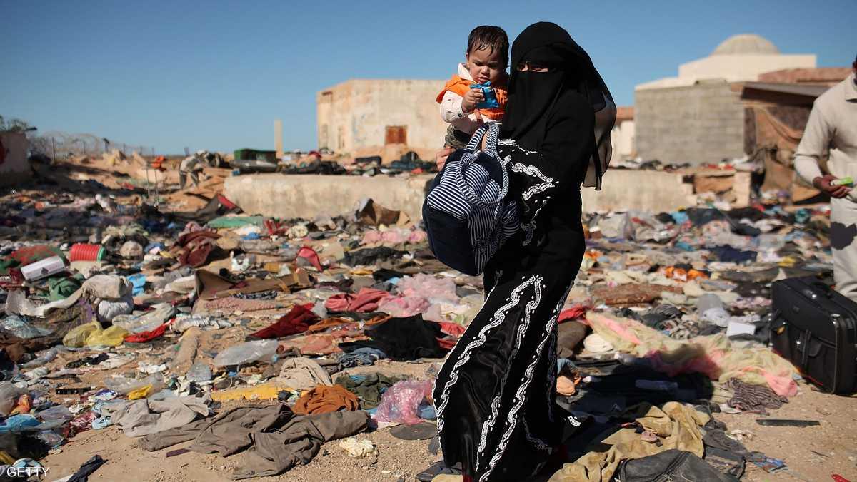 سكاي نيوز:معاناة بني وليد.. ملجأ الهاربين من الإرهاب في ليبيا 1-839701