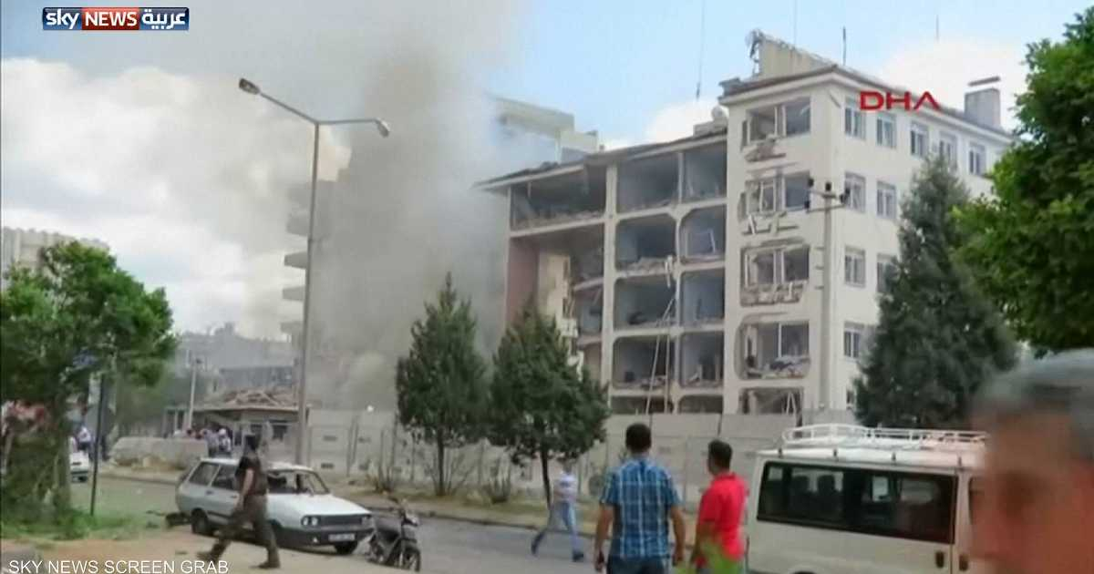 قتلى وجرحى بانفجار جنوبي تركيا.. وأردوغان يعلق على الفور   أخبار سكاي نيوز عربية