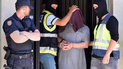 """إسبانيا توقف عصابة متورّطة في """"تمويل القاعدة"""" بسوريا"""