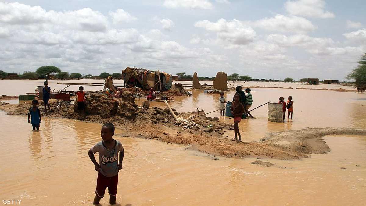 Image result for فيضانات السودان