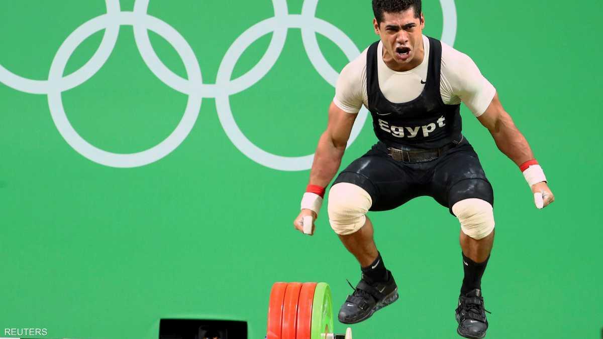المصري محمد إيهاب حصل على برونزية وزن 77 كلغ في رفع الأثقال