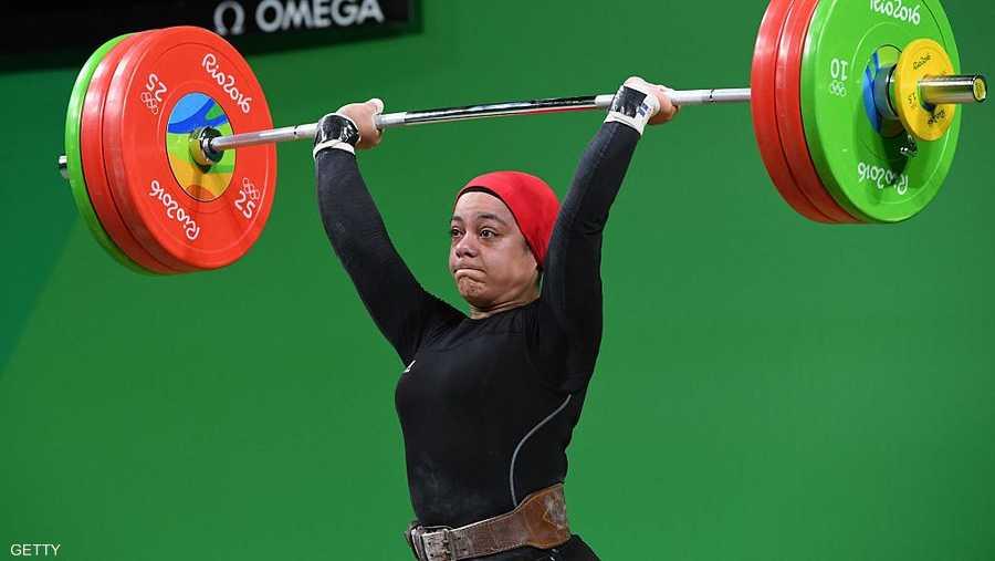 توجت الرباعة سارة سمير بـ 3 ميداليات