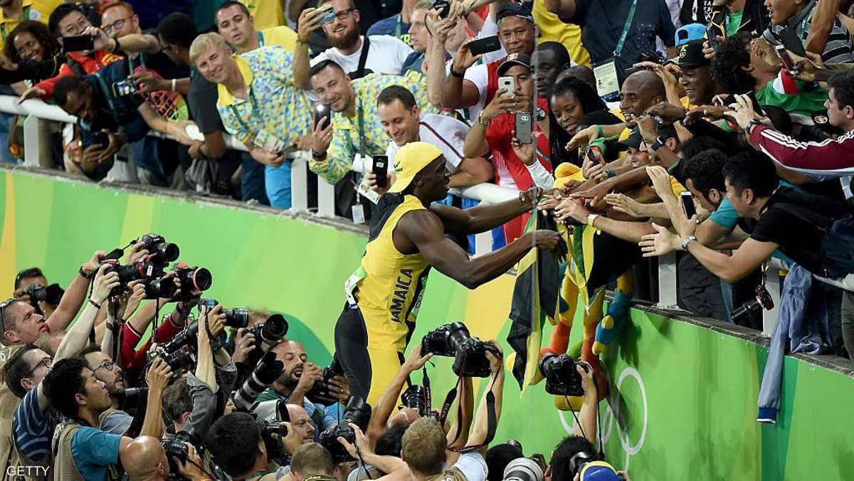 البطل الجاميكي دعا في وقت سابق، الجماهير للحضور إلى الملعب ومشاهدته وهو يصنع التاريخ فى الأولمبياد