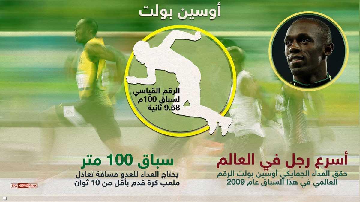 سباق 100 متر