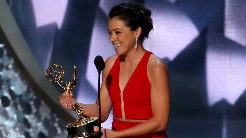 تاتيانا ماسلاني تحرز جائزة أفضل ممثلة في مسلسل درامي