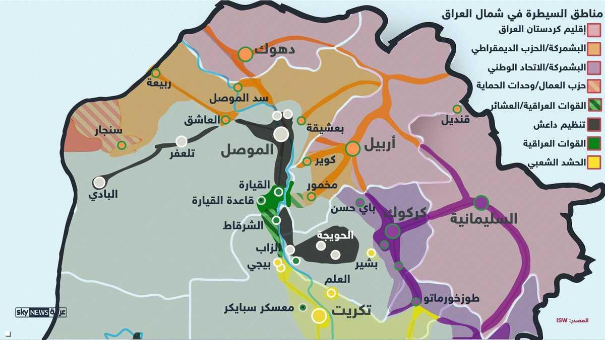 إنفوغرافيك.. الموصل