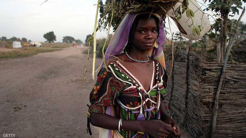 سيدة من دارفور