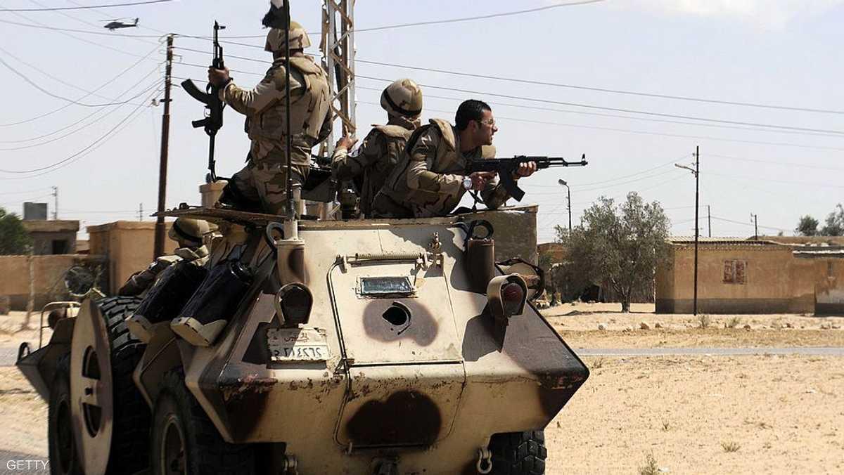 مصر.. مقتل عشرات المسلحين شمالي سيناء