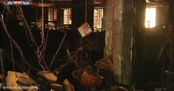 عشرات الضحايا بحريق داخل فندق في كراتشي   أخبار سكاي نيوز عربية