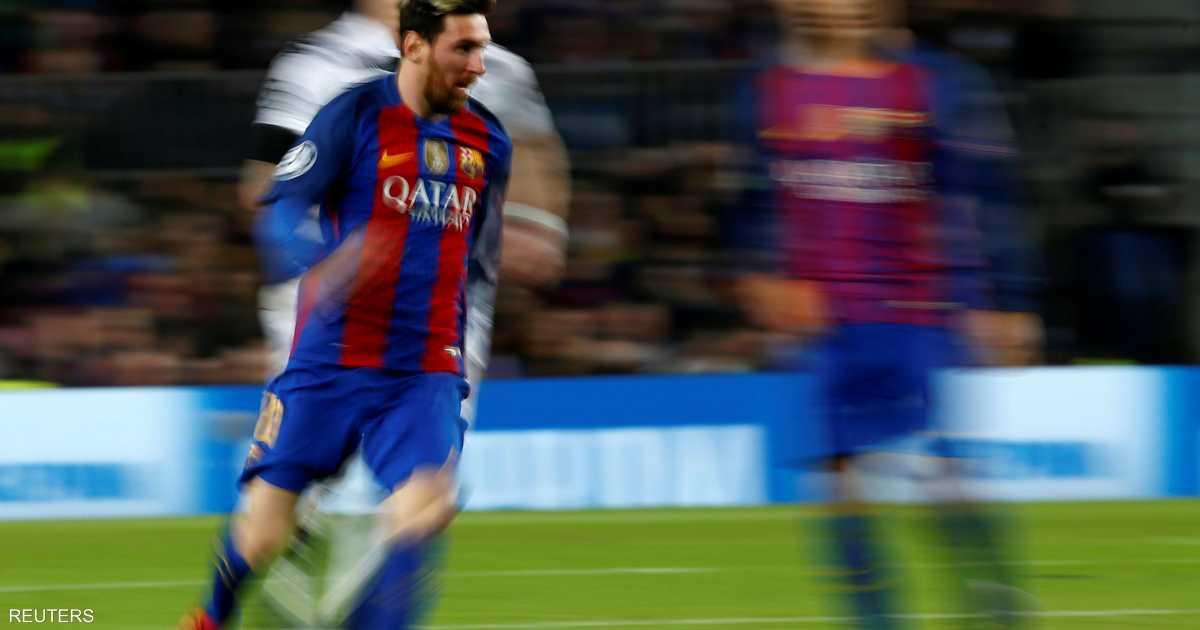 فوز ساحق لبرشلونة بفضل هاتريك لتوران