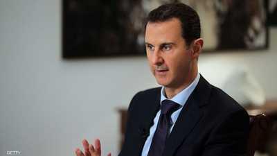 الأسد يتحدث عن