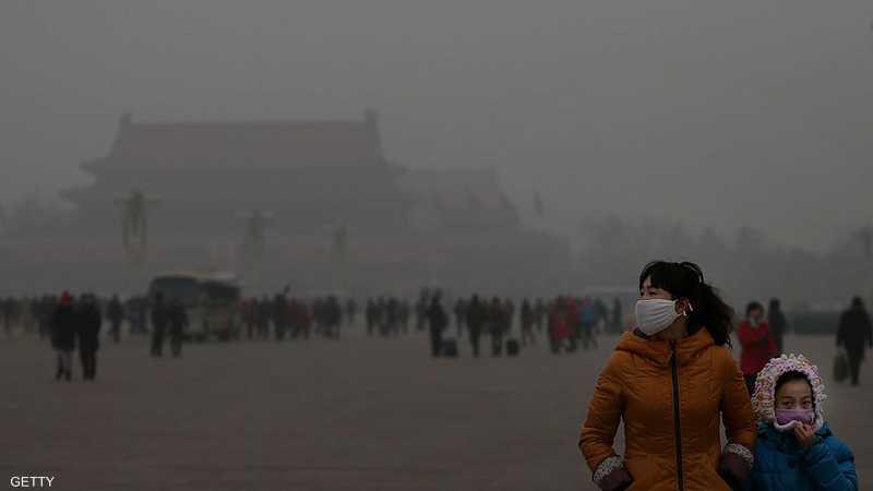 تحذير أحمر من تلوث الهواء في بكين أخبار سكاي نيوز عربية