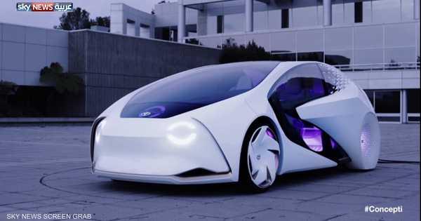 شاهد فيديو لسيارة المستقبل من تويوتا   أخبار سكاي نيوز عربية