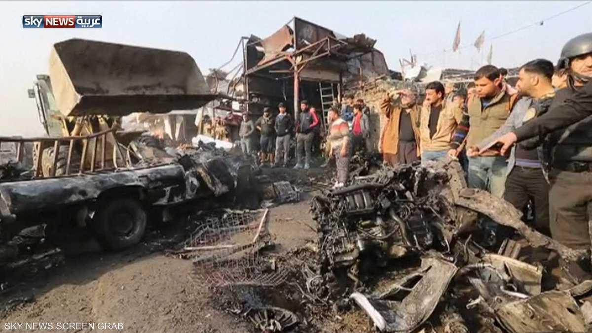 """انفجار """"عنيف"""" في بغداد"""