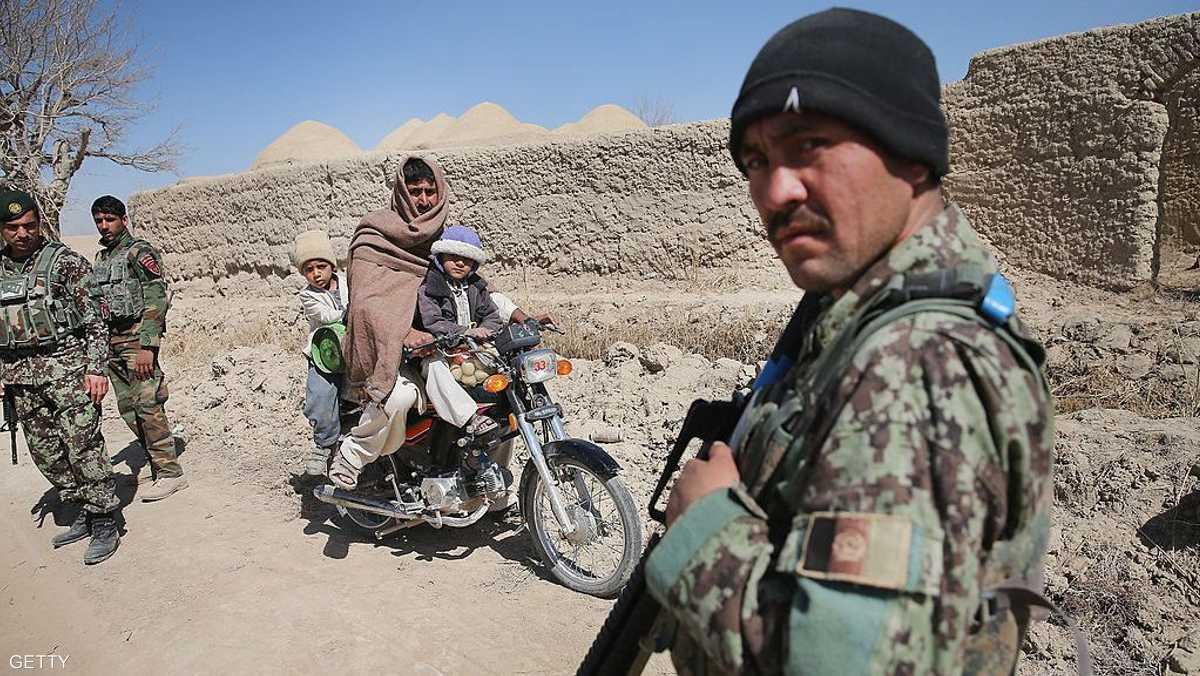 60 بالمائة فقط من أفغانستان تحت سيطرة الحكومة
