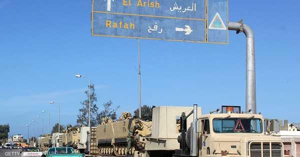 الجيش المصري يقتل متشددين في مواجهات جنوبي العريش   أخبار سكاي نيوز عربية