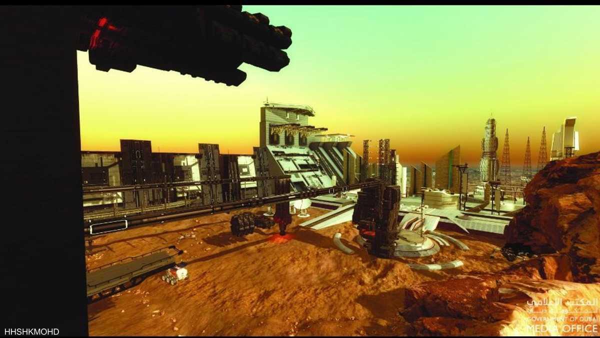 """إعلان تاريخي للإمارات.. بناء """"مدينة متكاملة"""" على المريخ"""