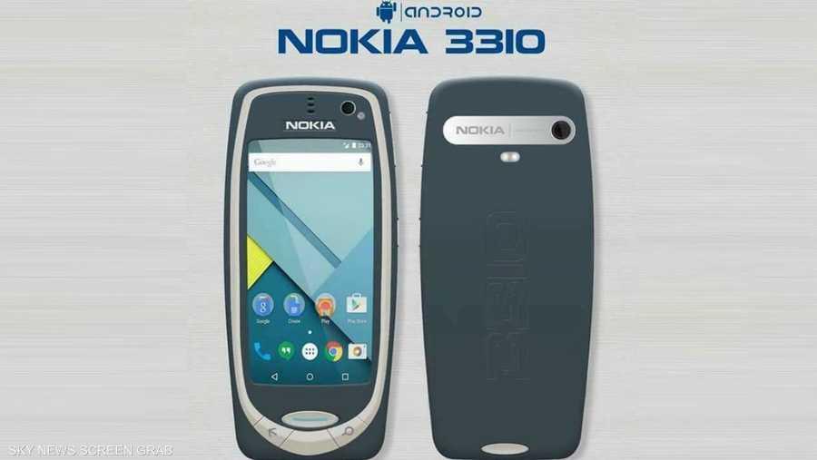 490d2e12c4205 التسريبات قالت إن نوكيا 3310 سيعتمد على أندوريد