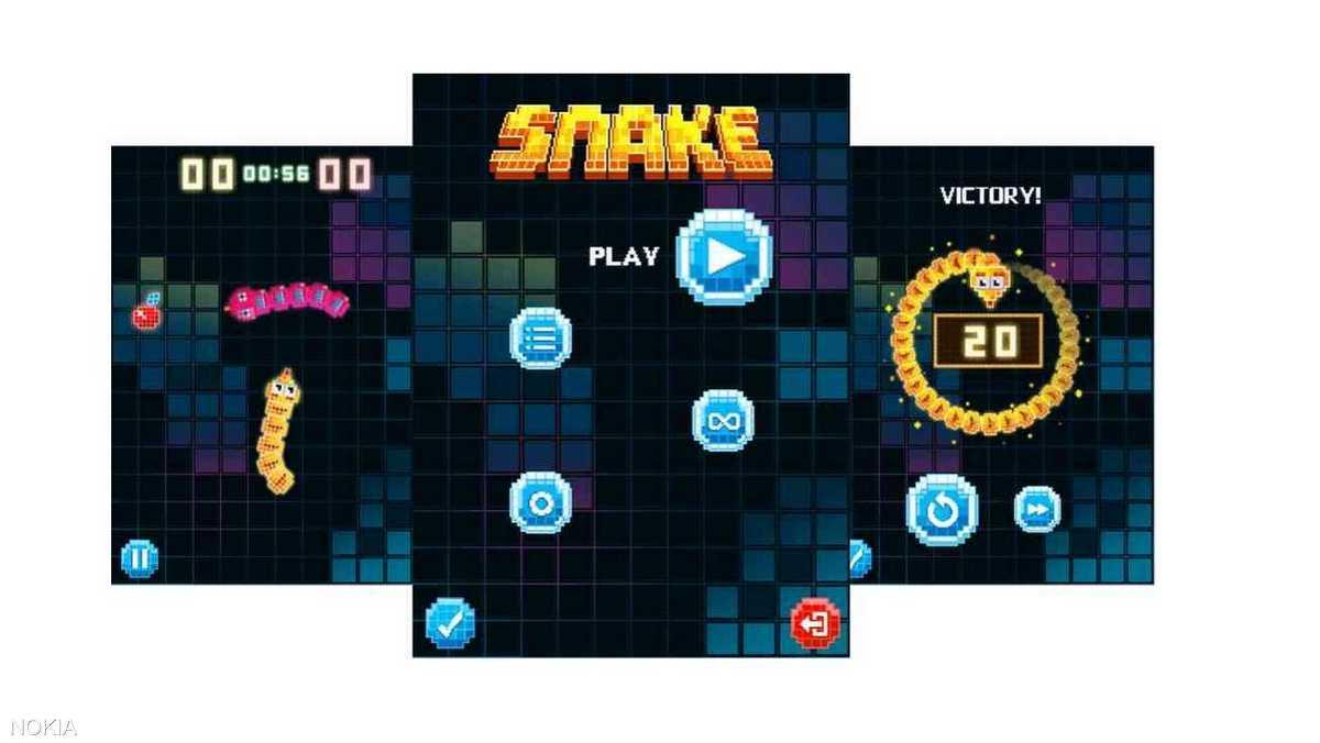 نوكيا طرحت تحديثا على لعبة Snake بهاتفها الجديد/القديم