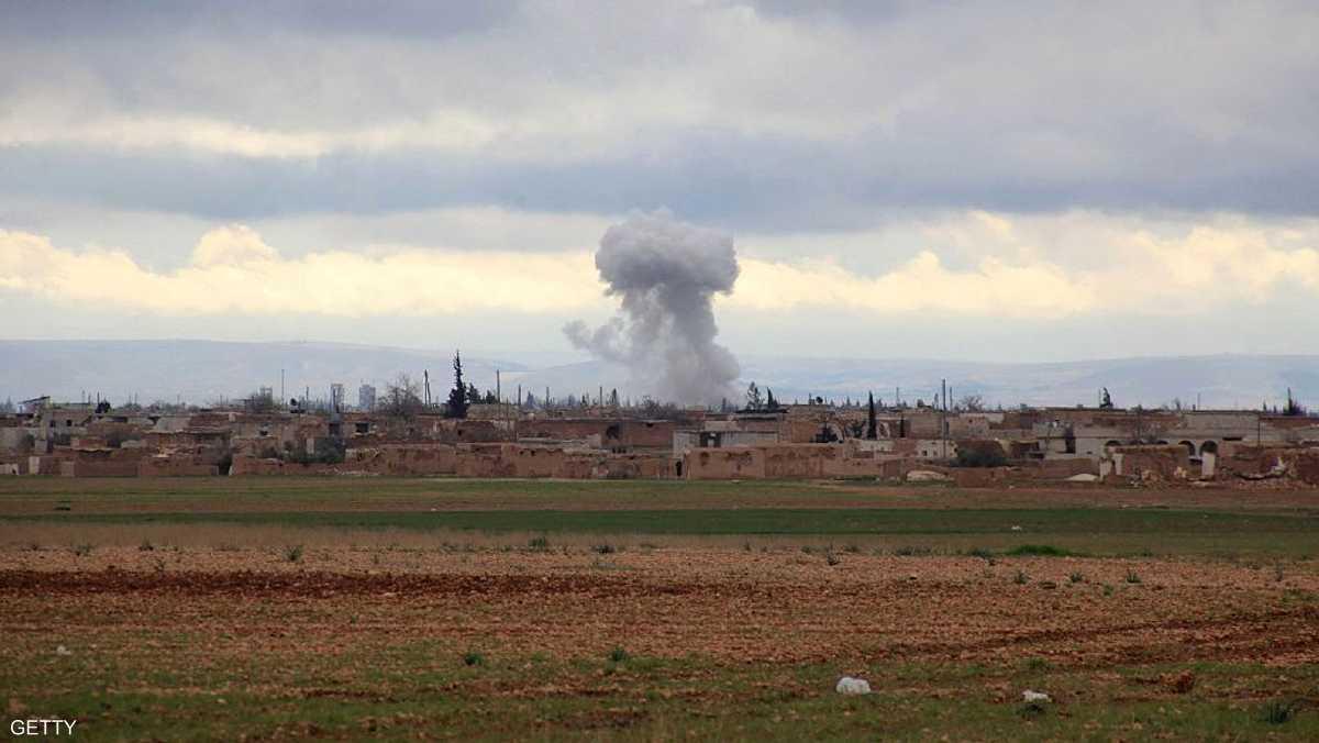 أرشيفية لغارة على داعش في سوريا