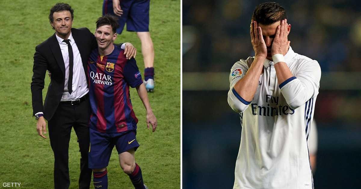 مدرب برشلونة  يحرم  رونالدو من لقبه   أخبار سكاي نيوز عربية