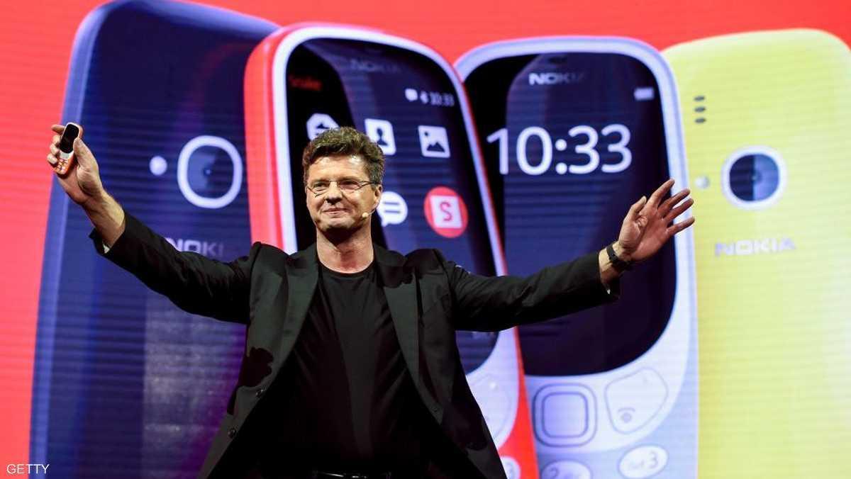 أثناء تقديم هاتف Nokia 3310 الجديد-القديم