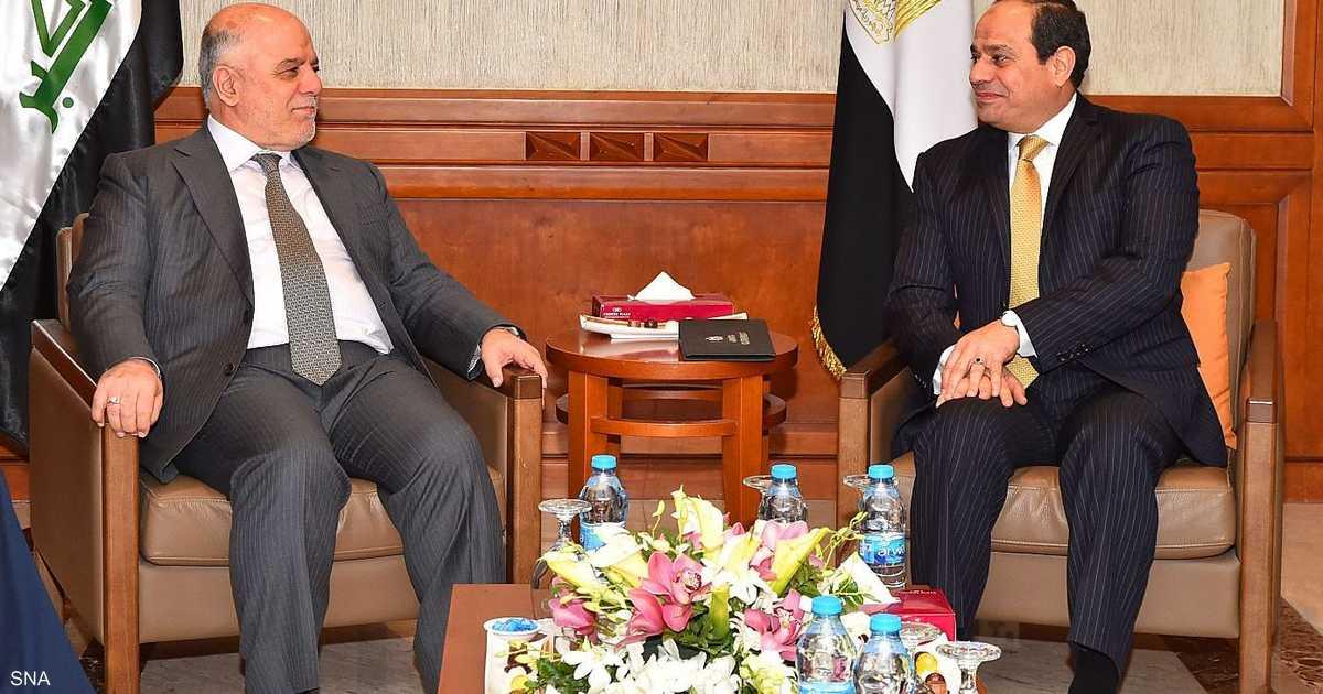 السيسي يؤكد دعم مصر لوحدة واستقرار العراق   أخبار سكاي نيوز عربية