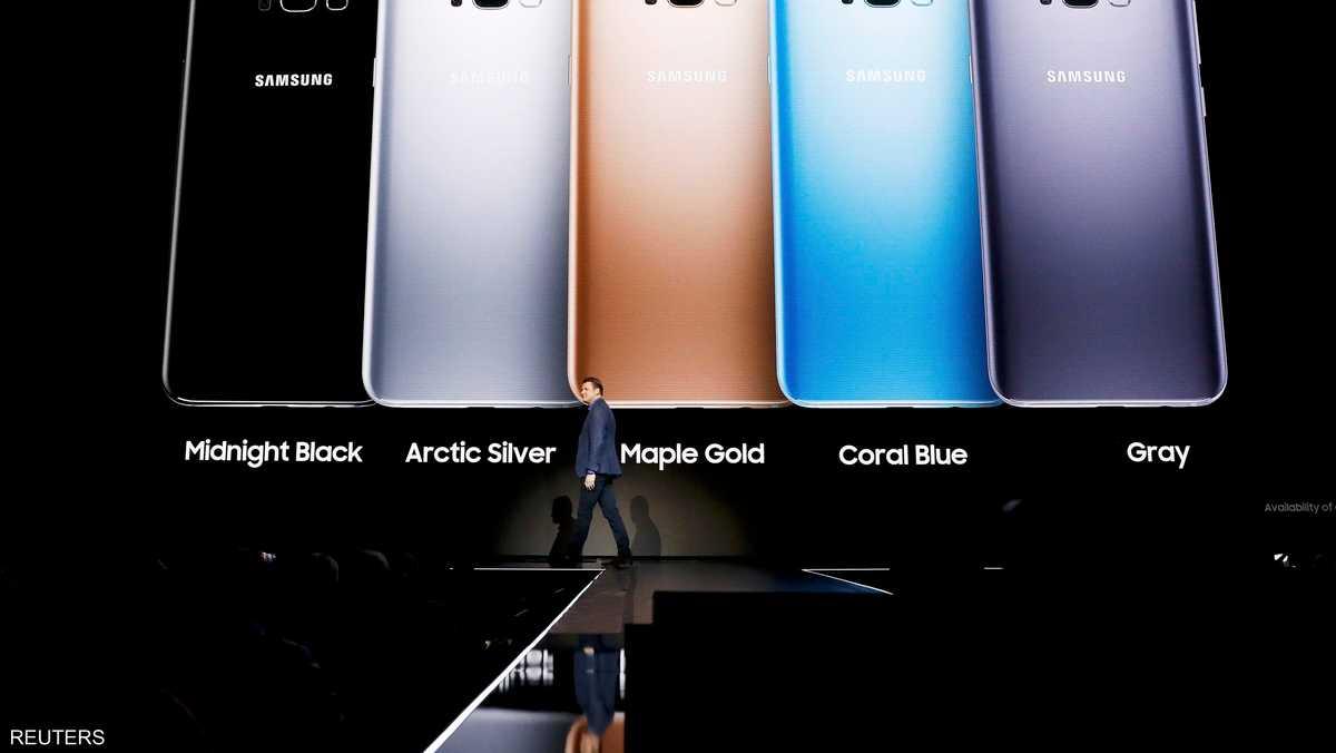 غالاكسي إس 8 سيتوفر بألوان عديدة