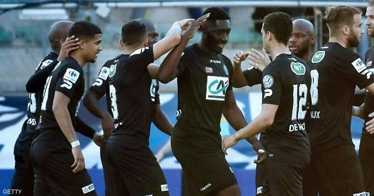 غانغان أول المتأهلين لنصف نهائي كأس فرنسا   أخبار سكاي نيوز عربية