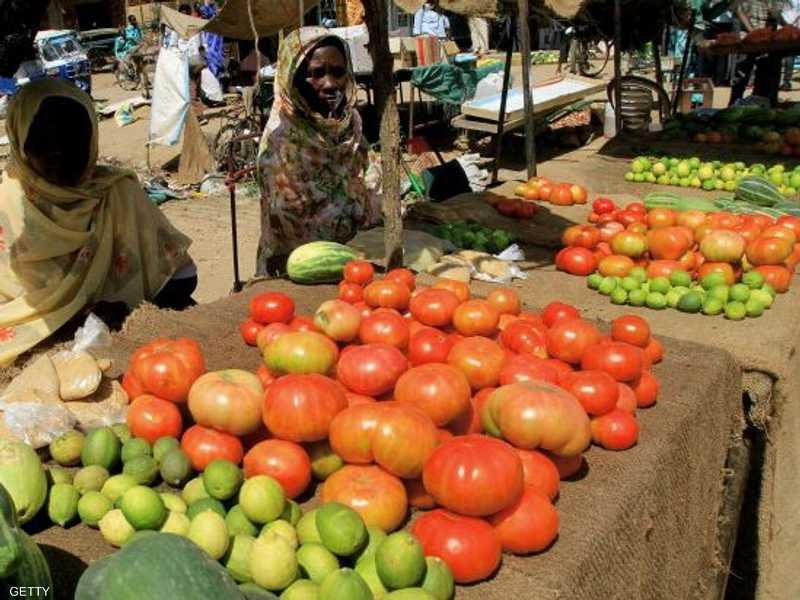 سوق للخضراوات بالعاصمة الخرطوم - أرشيفية