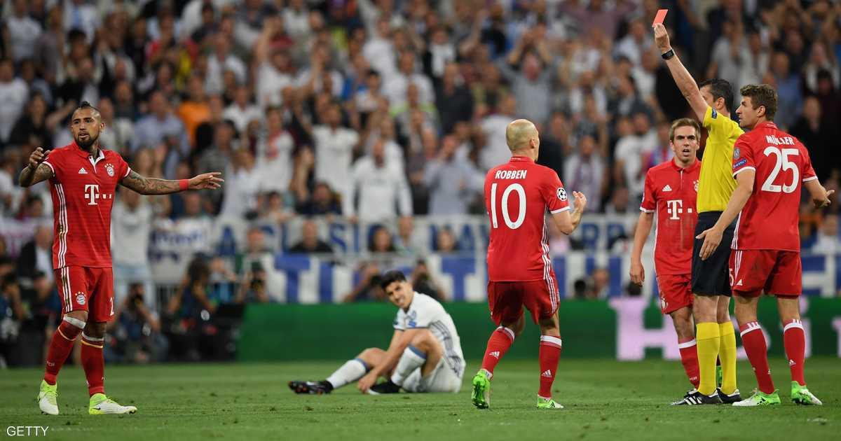 حكم يلعب مع ريال مدريد .. انتقادات حادة  للقاتل    أخبار سكاي نيوز عربية