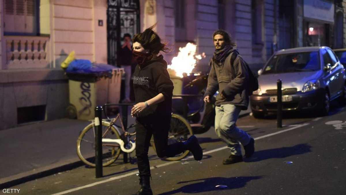 """بعض الغاضبين ينتمون لجماعات فوضوية وجماعات """"معادية للفاشية"""