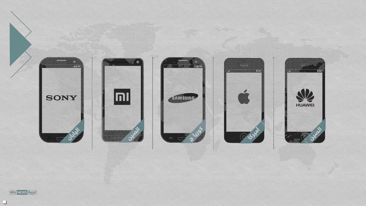 ما هي أكثر الهواتف الذكية استخداما؟