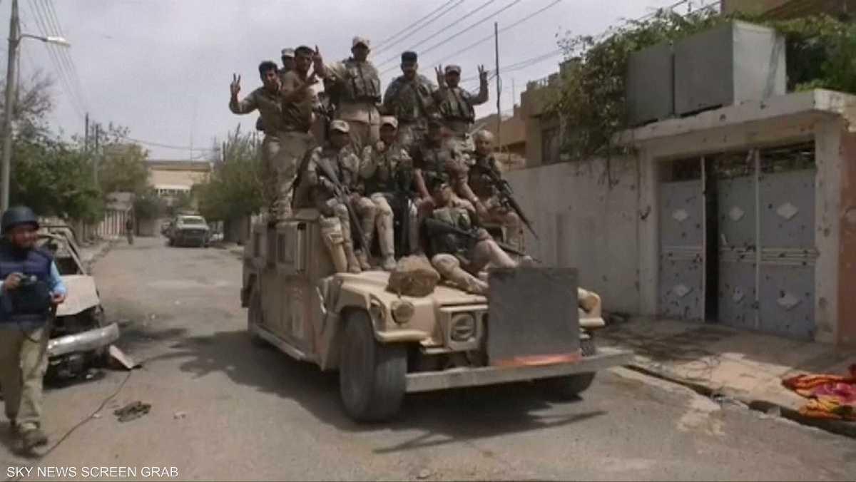 """القوات العراقية تسيطر على """"مواقع حيوية"""" شمال الموصل"""
