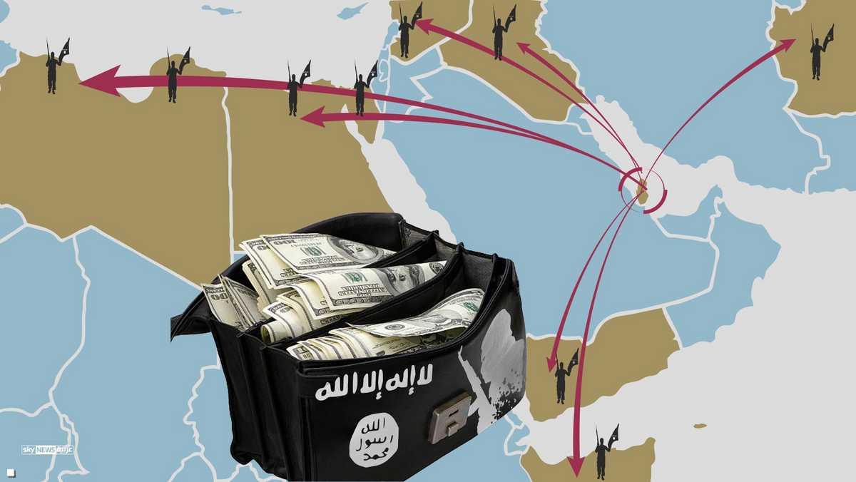 قطر وتمويل الإرهاب من شبه الجزيرة للنصرة