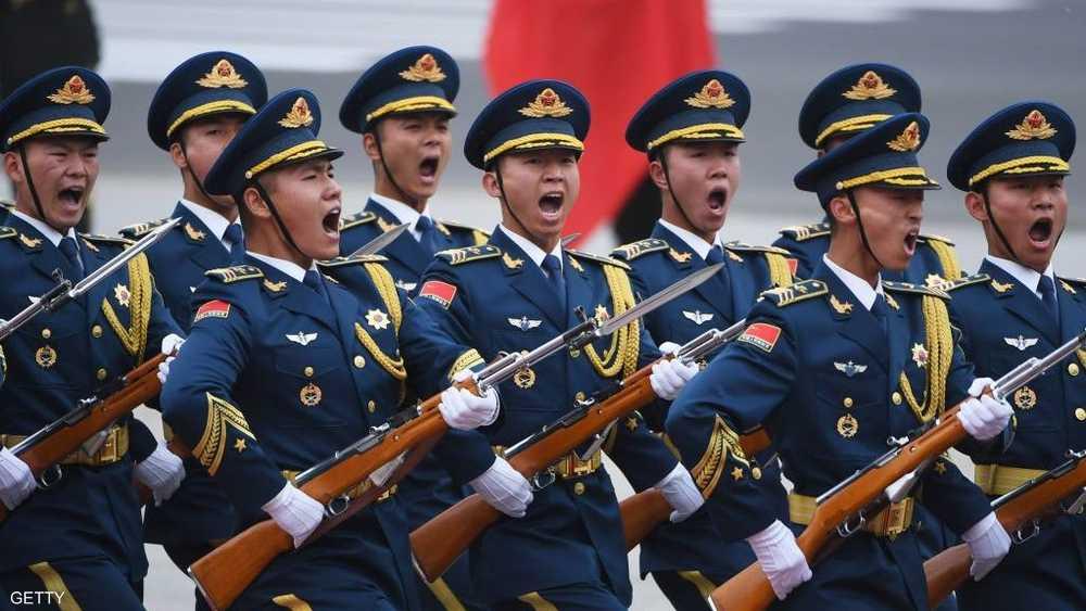 قوة من الجيش الصيني