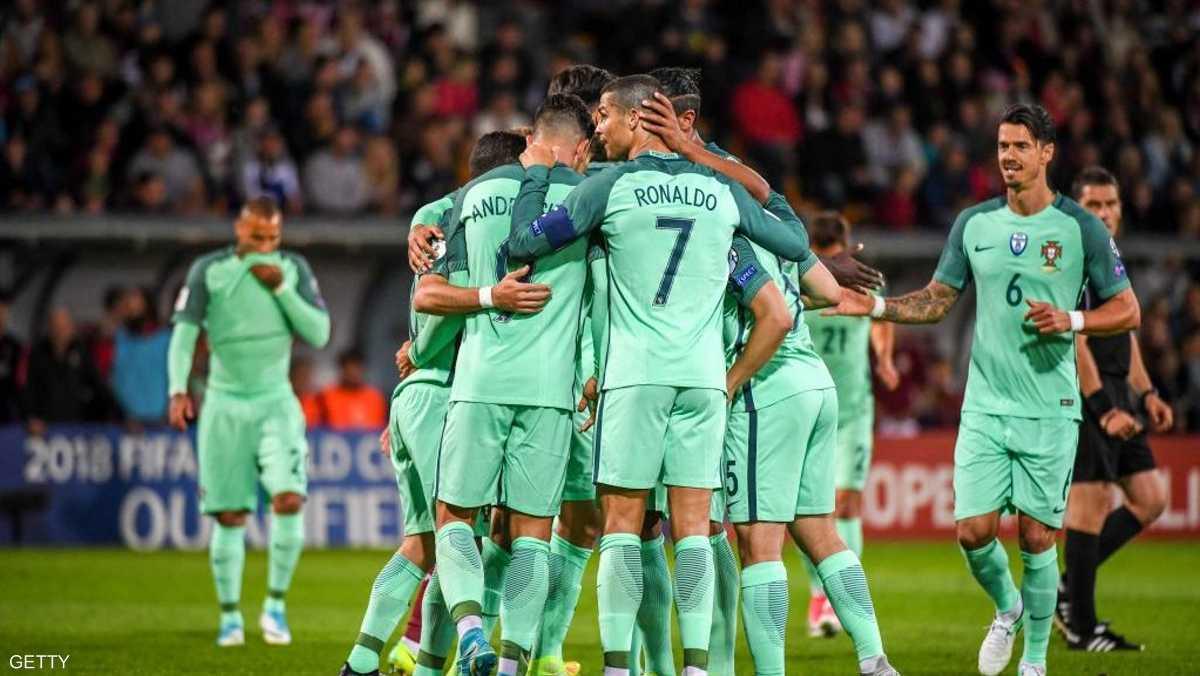 رونالدو رفع رصيده إلى 73 هدفا خلال 139 مباراة مع البرتغال