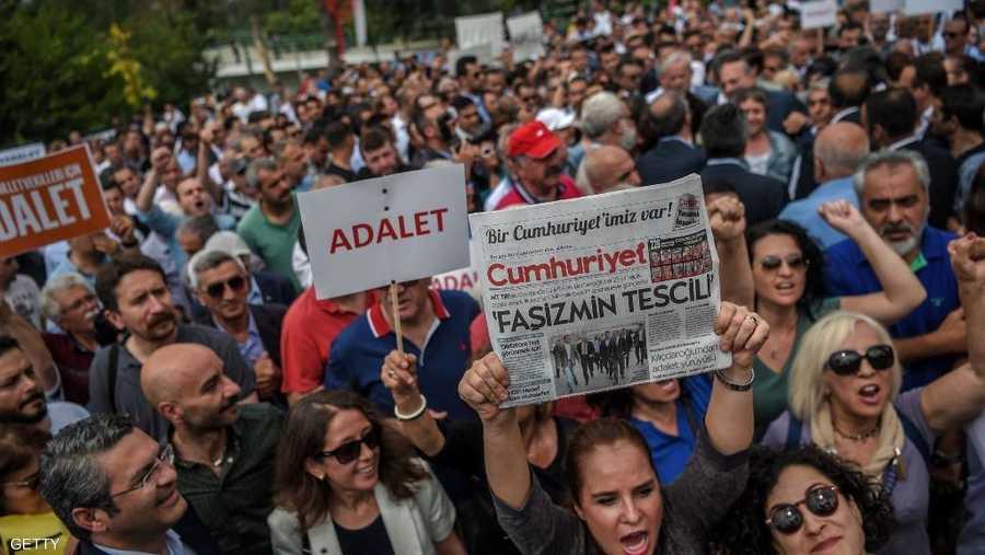 متظاهرون من كل الأعمار