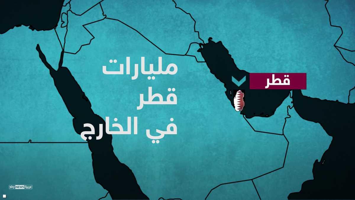 مليارات قطر في الخارج