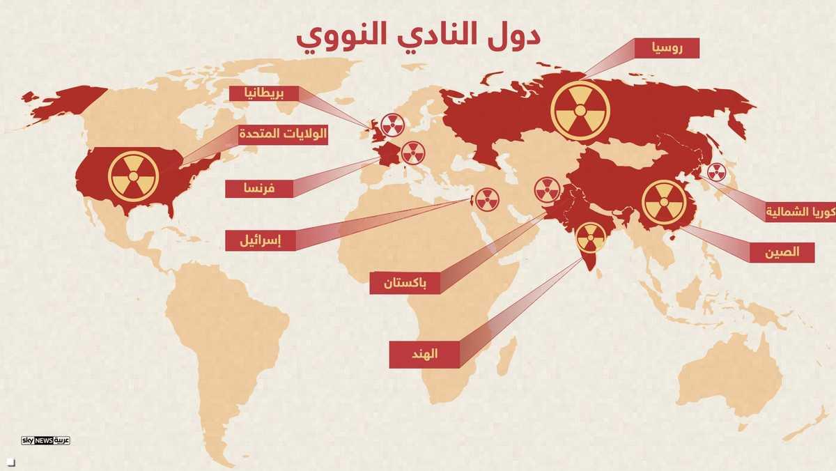 دول النادي النووي
