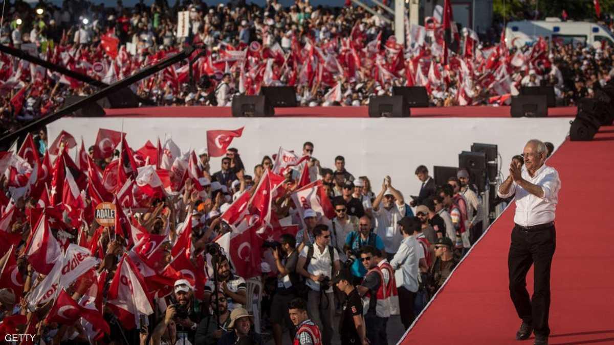 تحدث زعيم المعارضة كمال قليجدار أوغلو عن هدم جدران الخوف